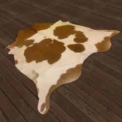 Alfombra de Piel de Vaca con Pelo