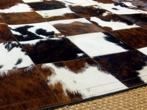 Patchwork de Piel de Vaca con Pelo